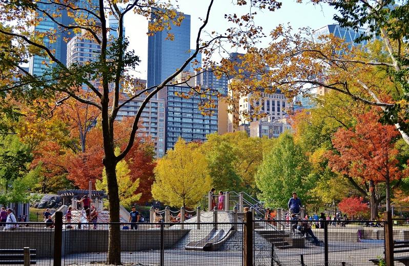 Central Park's Heckscher Playground