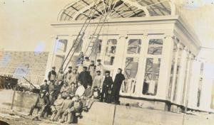 Raising the Conservatory, 1915