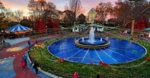 Franklin Square Fountain and Carousel