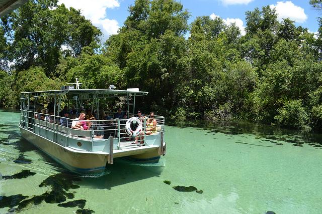 Weeki river boat