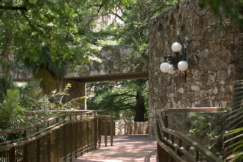 Riverwalk walkway