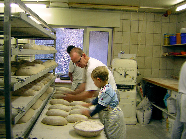 In the Bakery father and son.jpg
