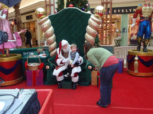 mall-santa